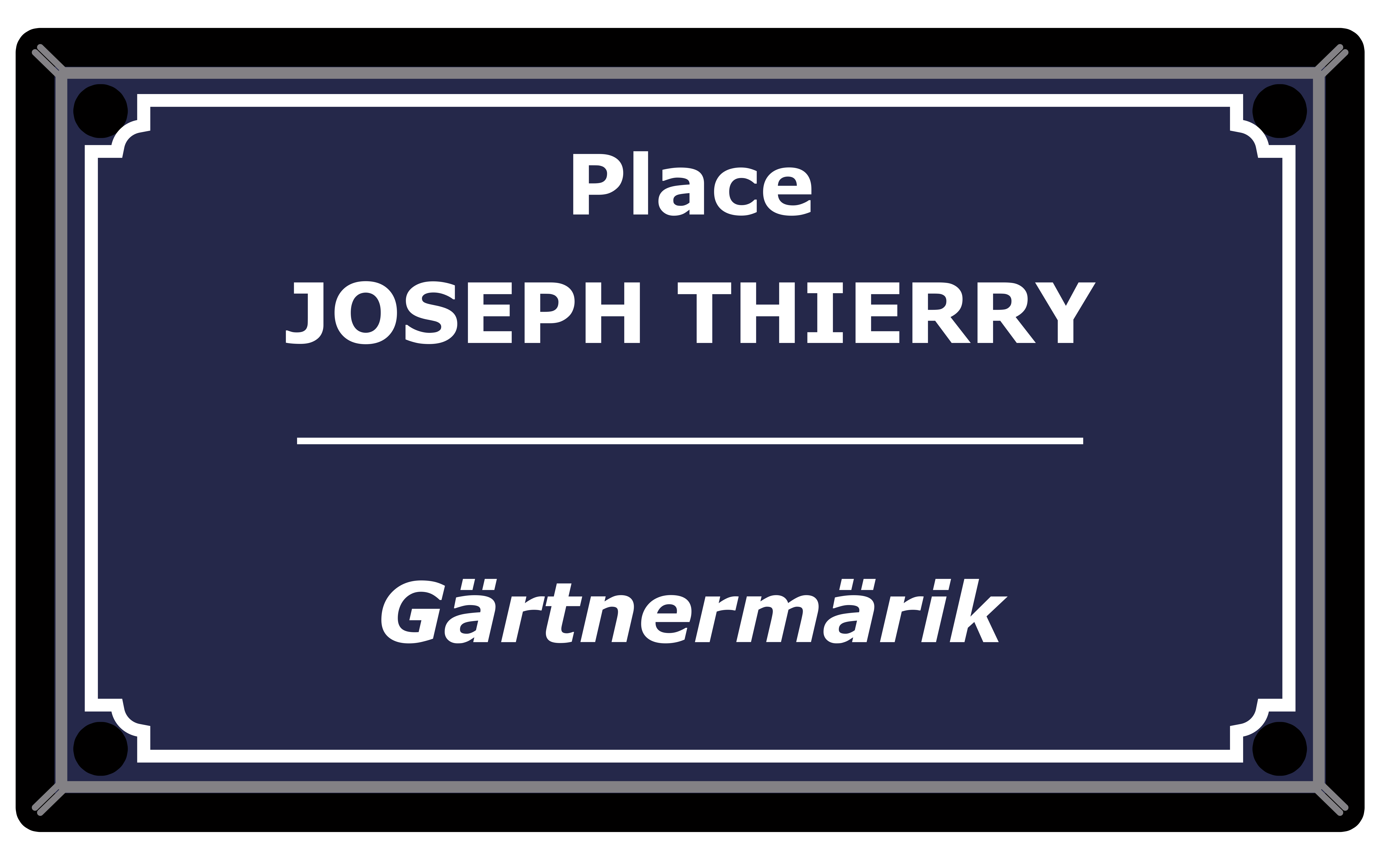 Place Joseph Thierry